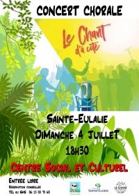 CONCERT Chorale Le Chant d